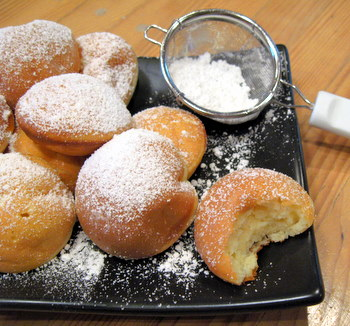 Ebleskiver pancakes. Photo credit: Williams-Sonoma