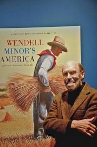 Artist Wendell Minor